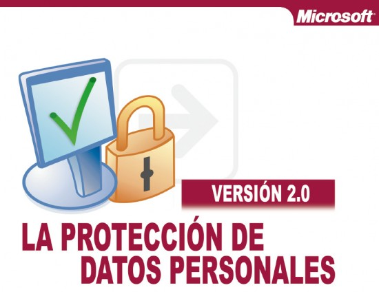 """Solicita gratis PDF del libro """"La protección de Datos"""" editado por Microsoft Ibérica"""